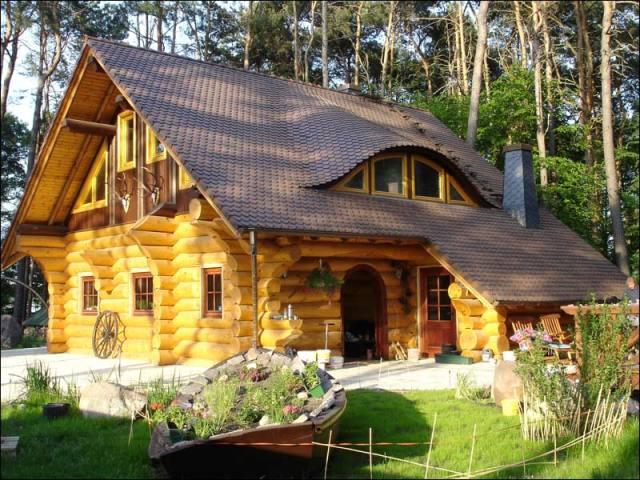 Усадка дома солнечная сторона