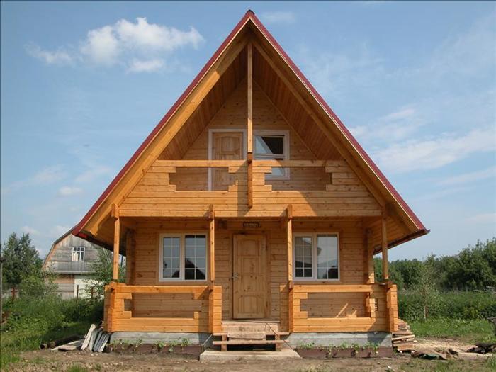 дом из бруса расчет материалов